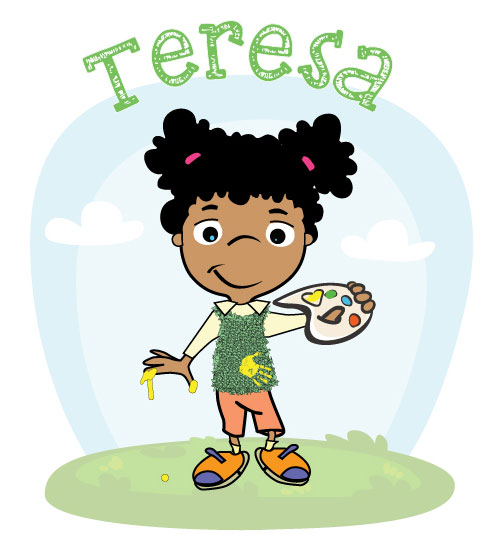 Sensory Book for Babies - Teresa - touch, taste and smell