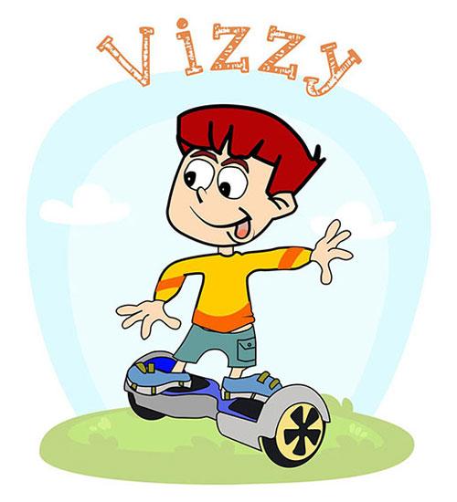 Sensory Book for Babies -  Vizzy - Vestibular Sense